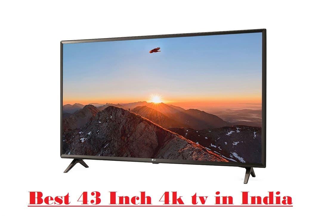 best 43 inch 4k tv in india