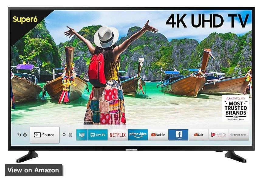 Best 4K TV In India samsung 6100