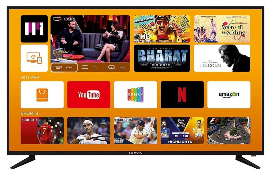 Best 4K TV In India Under kevin