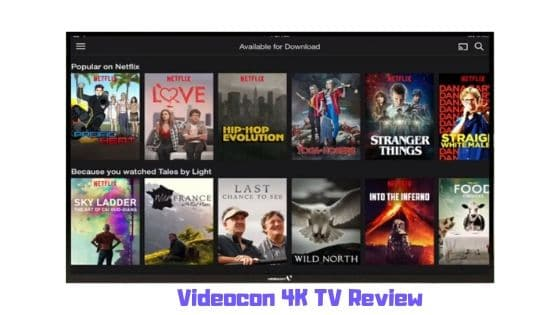 Videocon 4K TV Review