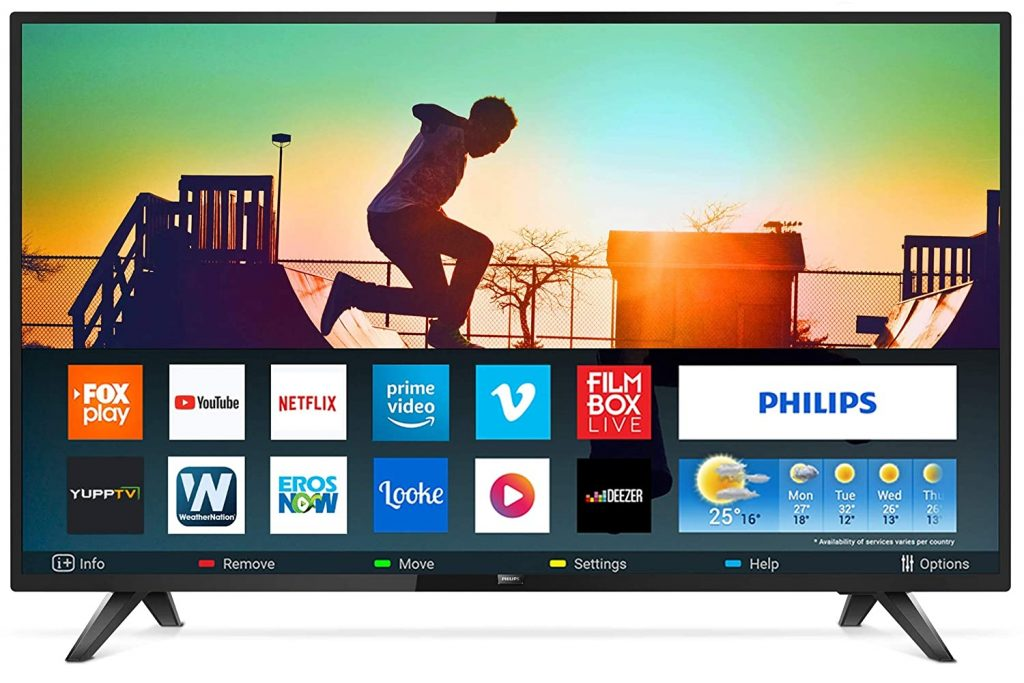 Best 43 Inch LED TV in India philips
