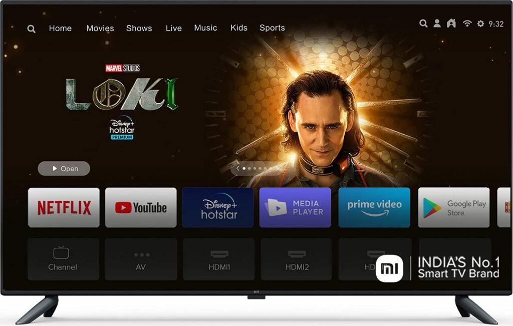 Best 4K TV in India Under 40000